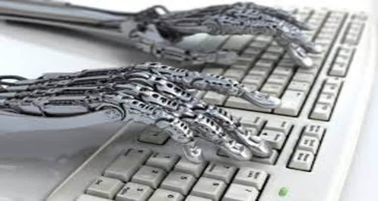 Робот зарабатывает в интернете