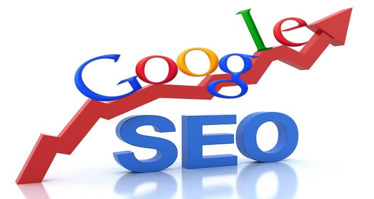Надпись google seo