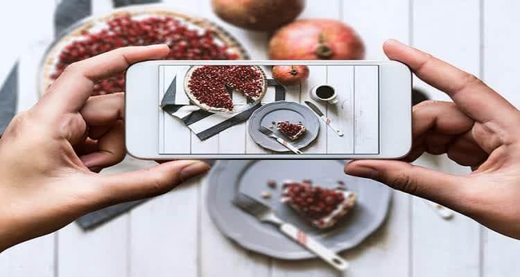 Отображение на столе через телефон